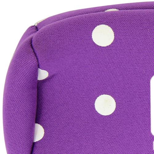 Dot Design Bottle Koozie With Zipper