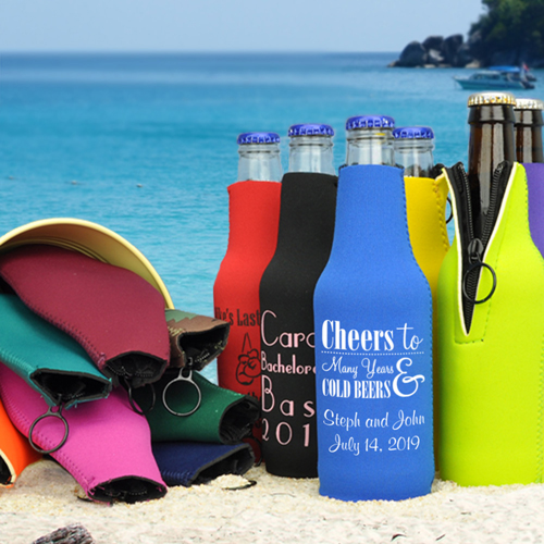 Bottle Zipper Koozie Suit Image 2