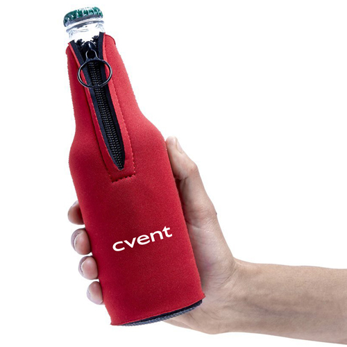 Bottle Zipper Koozie Suit