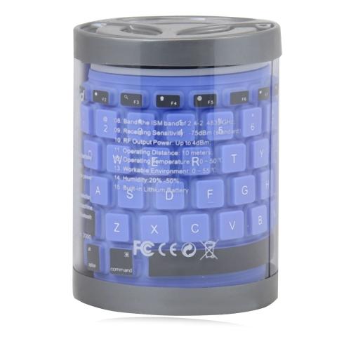 Flexible Wireless Bluetooth 2.0 Keyboard