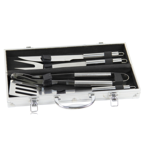 4-Piece Barbecue BBQ Tool Set