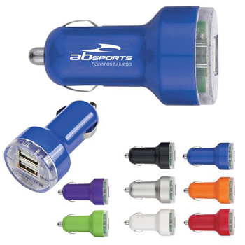 Dual USB Mini Car Charger