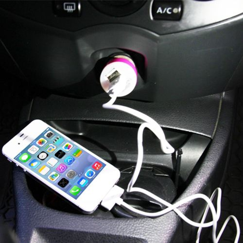 Dual USB Mini Car Charger Image 4