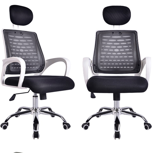 High-End Ergonomic Mesh Chair with Steel Base Image 9