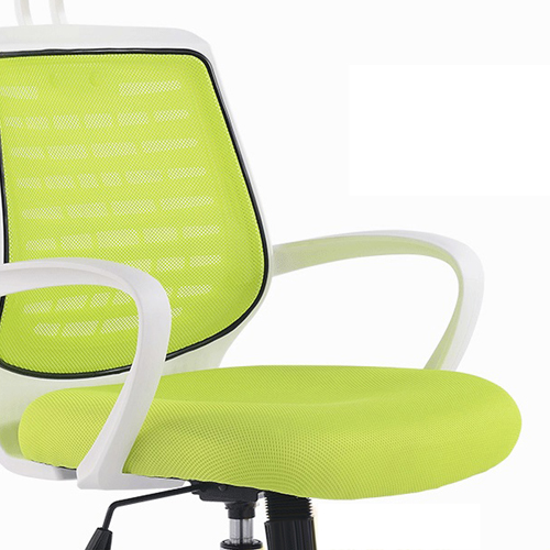 High-End Ergonomic Mesh Chair with Steel Base Image 13