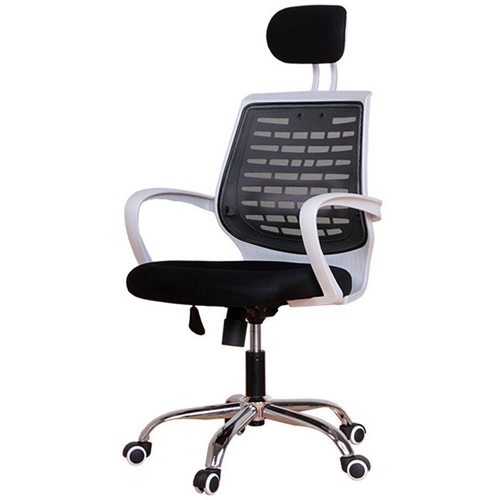 High-End Ergonomic Mesh Chair with Steel Base Image 2