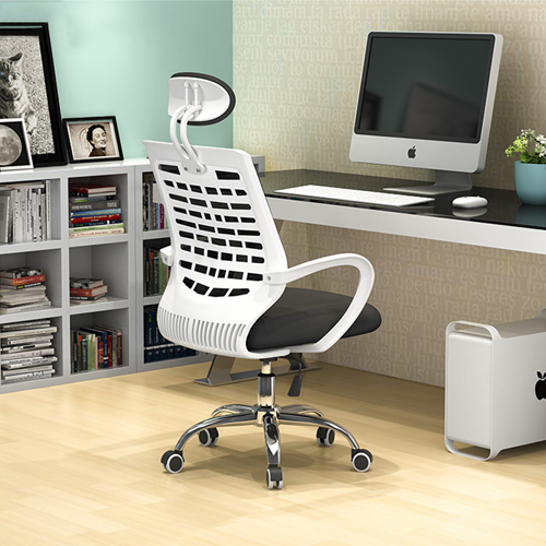 High-End Ergonomic Mesh Chair with Steel Base Image 3