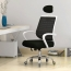High-End Ergonomic Mesh Chair with Steel Base Image 5