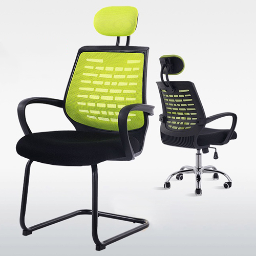 High-End Ergonomic Mesh Chair with Steel Base Image 7