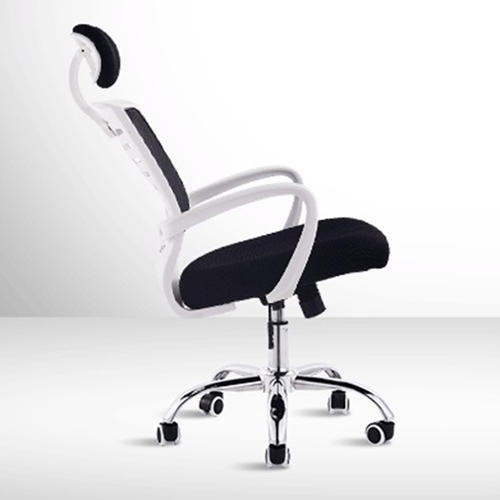 High-End Ergonomic Mesh Chair with Steel Base Image 8