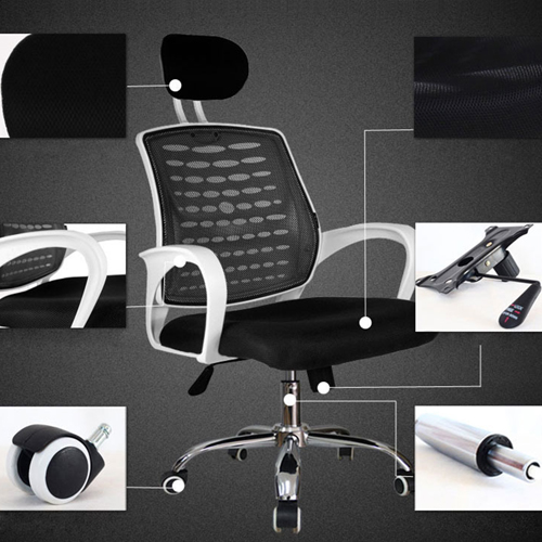 Bedlam Ergonomic Back Panel Chair Image 12