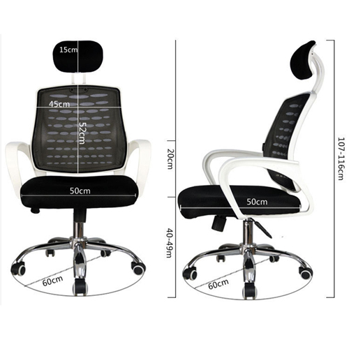 Bedlam Ergonomic Back Panel Chair Image 13
