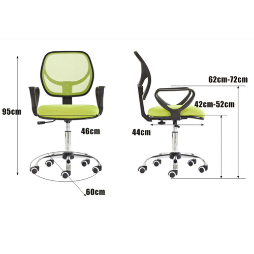 Chuffy Modern Mesh Swivel Chair Image 11