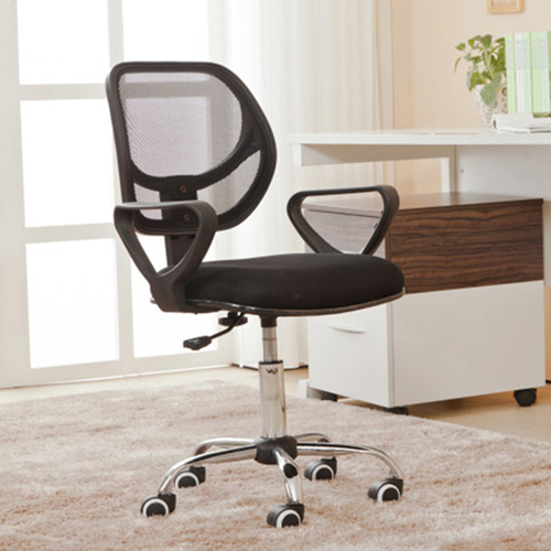 Chuffy Modern Mesh Swivel Chair Image 1