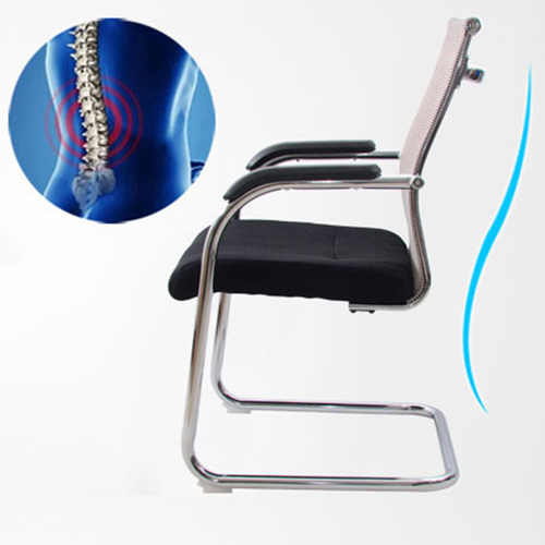 Dentrex Mesh Back Cantilever Chair Image 5