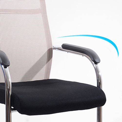 Dentrex Mesh Back Cantilever Chair Image 6