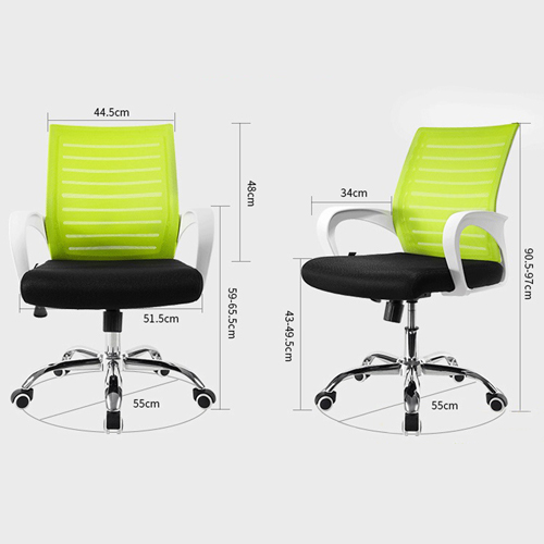 Gellopax Ergonomic Mid-Back Mesh Chair Image 13