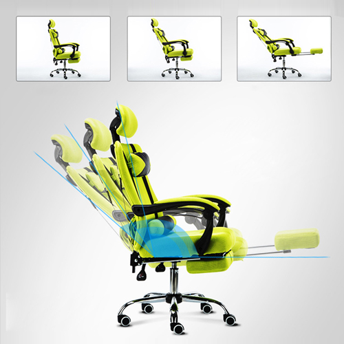 Tilt Modern Ergonomic Mesh Chair With Footrest Image 10