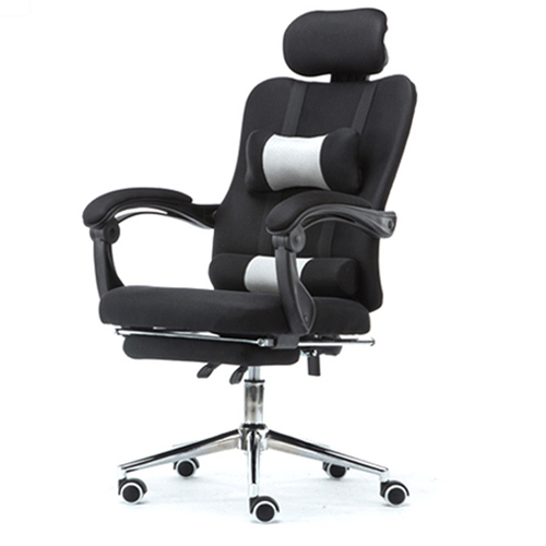 Tilt Modern Ergonomic Mesh Chair With Footrest Image 1