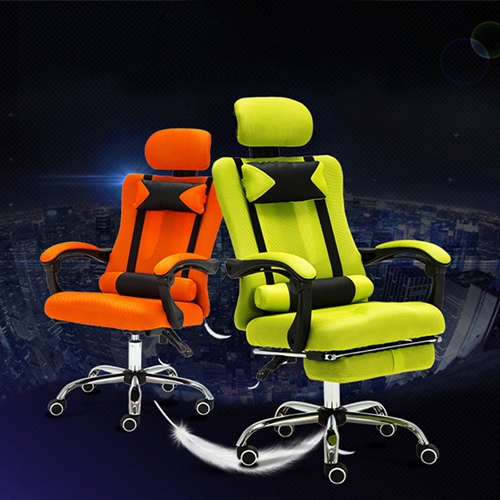 Tilt Modern Ergonomic Mesh Chair With Footrest Image 2