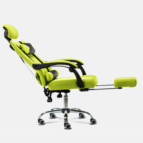 Tilt Modern Ergonomic Mesh Chair With Footrest Image 3
