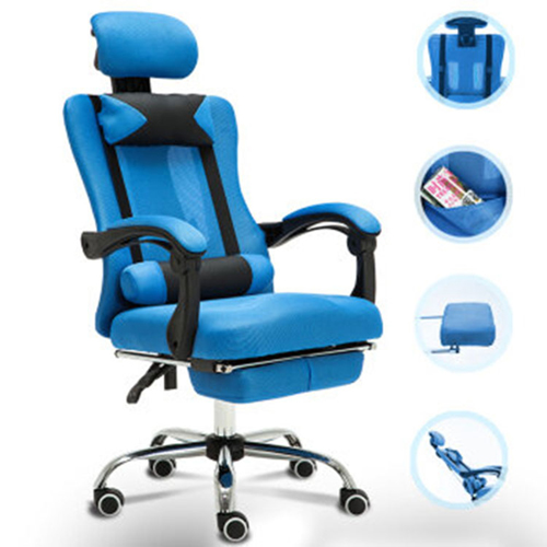 Tilt Modern Ergonomic Mesh Chair With Footrest Image 4