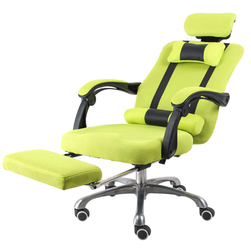 Tilt Modern Ergonomic Mesh Chair With Footrest Image 5