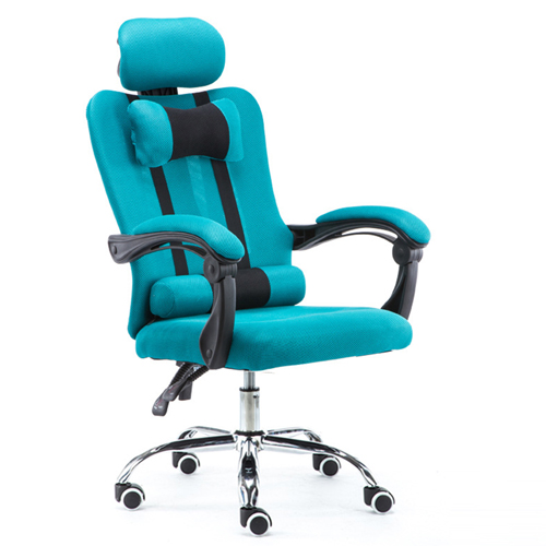Tilt Modern Ergonomic Mesh Chair With Footrest Image 7