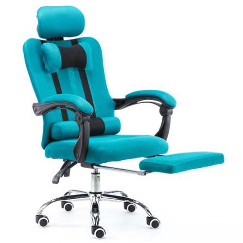 Tilt Modern Ergonomic Mesh Chair With Footrest Image 8