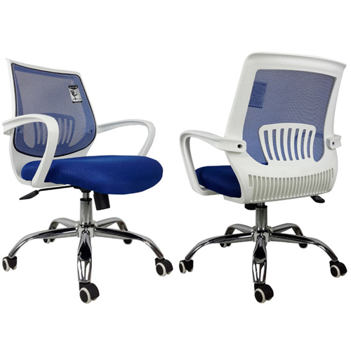 Homelux Swivel Mid-Back Mesh Chair Image 9