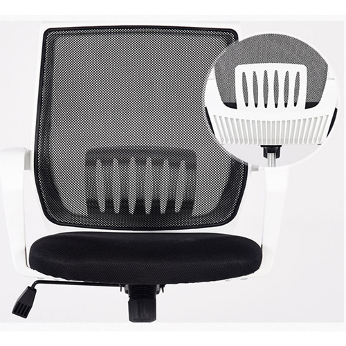 Homelux Swivel Mid-Back Mesh Chair Image 18