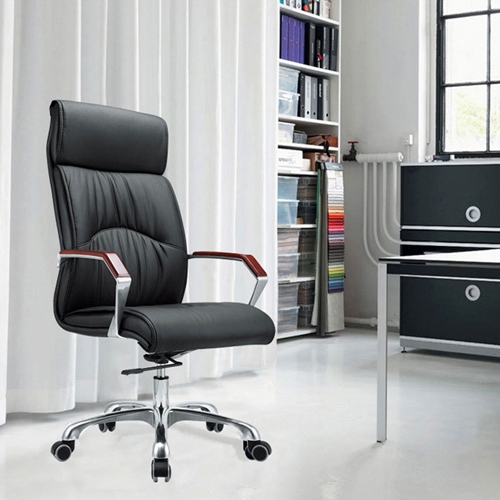 Jimbies Executive Leather Office Chair Image 1