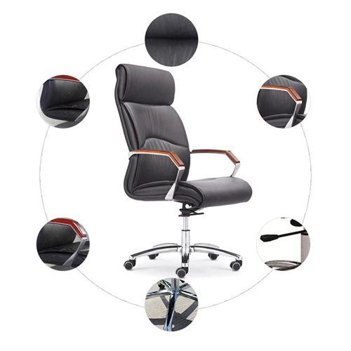 Jimbies Executive Leather Office Chair Image 5