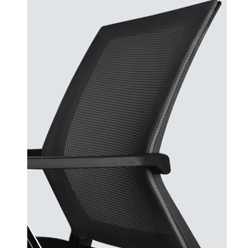 Square Frame Cantilever Mesh Chair Image 13