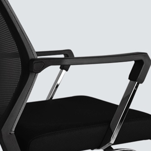 Square Frame Cantilever Mesh Chair Image 16