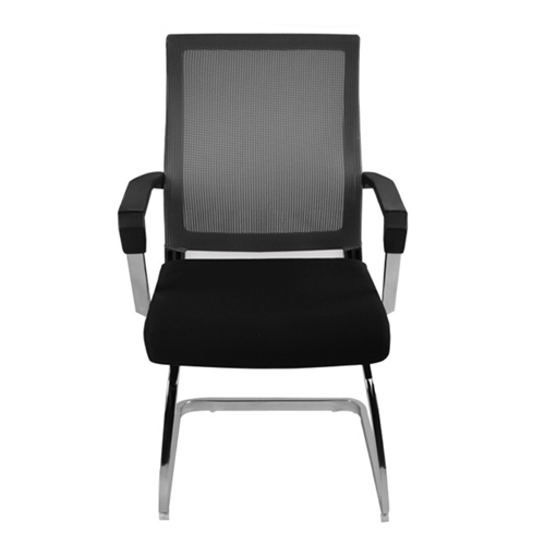 Square Frame Cantilever Mesh Chair Image 2