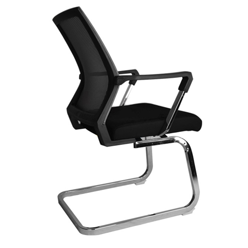 Square Frame Cantilever Mesh Chair Image 5