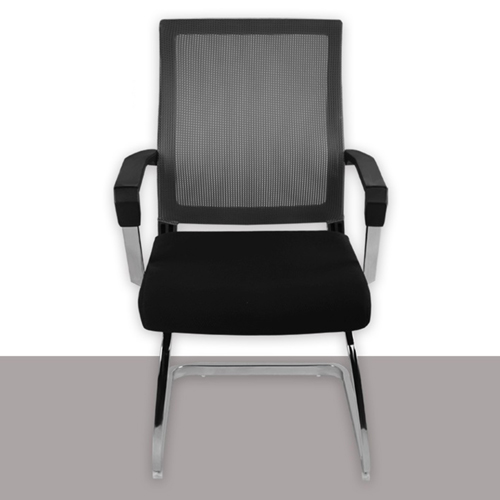 Square Frame Cantilever Mesh Chair Image 8