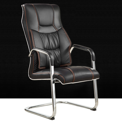 Bonded Leather Cantilever Office Chair Image 1