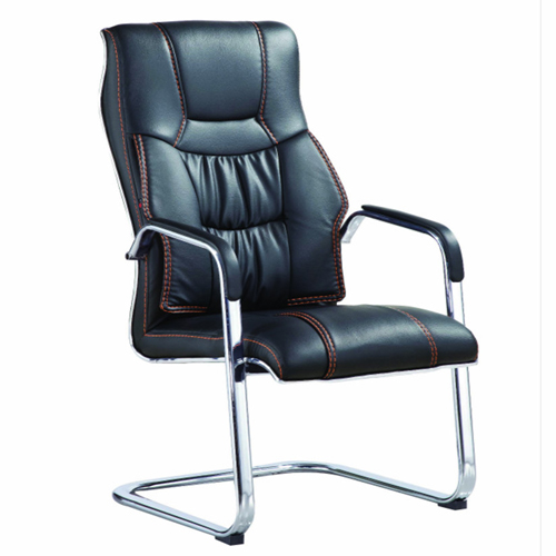 Bonded Leather Cantilever Office Chair Image 3