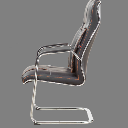 Bonded Leather Cantilever Office Chair Image 4