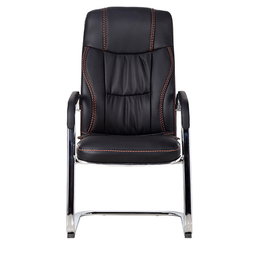 Bonded Leather Cantilever Office Chair Image 8