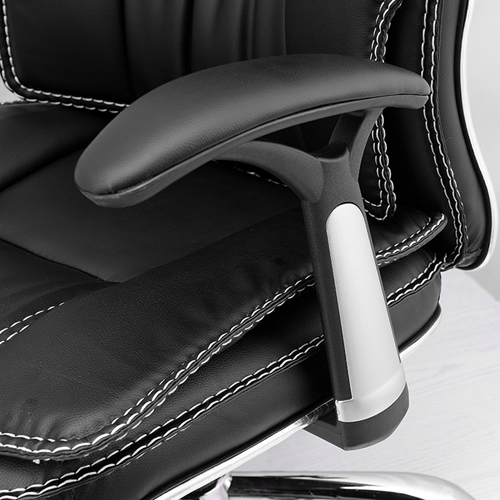 Standard Actuated Leather Executive Chair Image 10