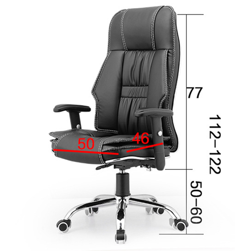 Standard Actuated Leather Executive Chair Image 5