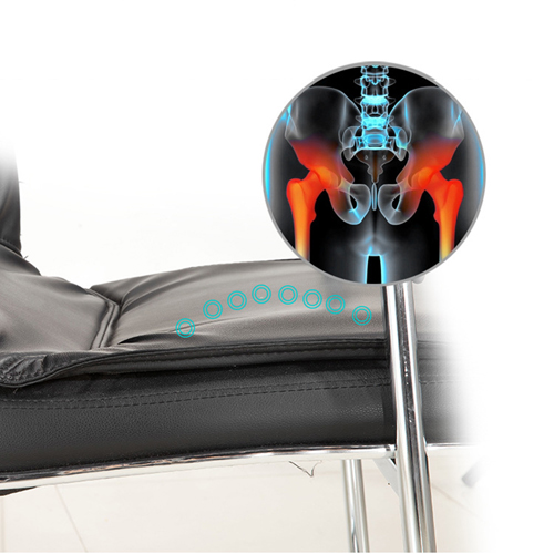 Amber High Back Cantilever Armrest Chair Image 9