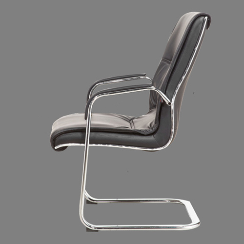Amber High Back Cantilever Armrest Chair Image 7