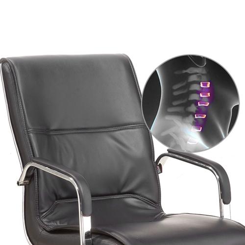 Amber High Back Cantilever Armrest Chair Image 8