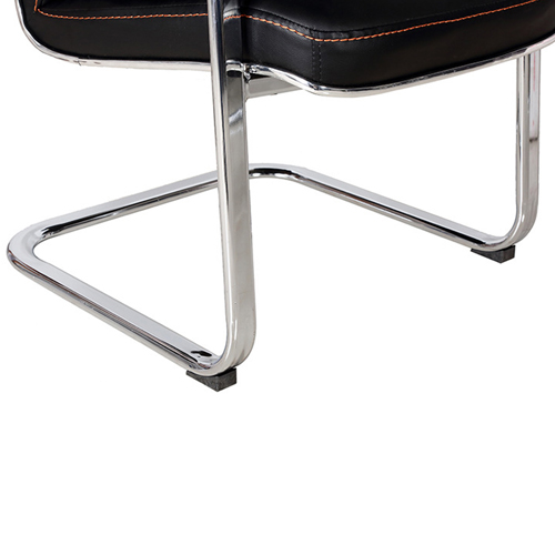 Cantilever Sled Leather Office Chair Image 14