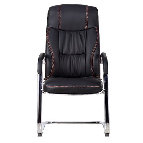 Cantilever Sled Leather Office Chair Image 4