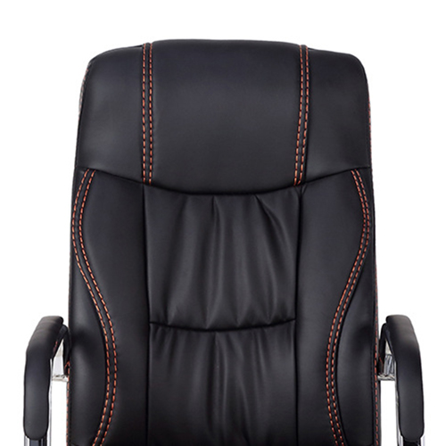 Cantilever Sled Leather Office Chair Image 7
